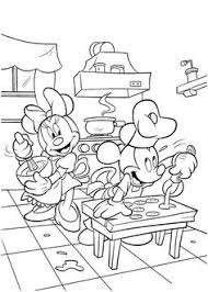 mickey coloring picture disney favorite characters