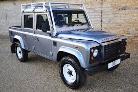 range rover truck conversion land rover defender 110 james bond skyfall double cab
