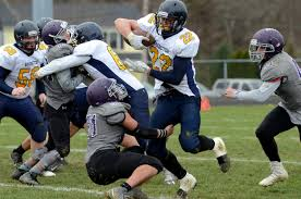 thanksgiving eagles mt hope holds off barrington in exciting thanksgiving day win