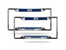 byu alumni license plate frame byu cougars ncaa license plate frames ebay