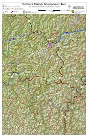 Virginia Map Counties by West Virginia Dnr Wma Map Project
