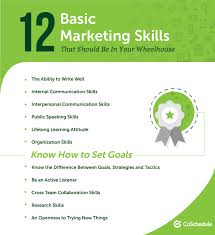 marketing skills resume the 48 most essential marketing skills you need to be successful