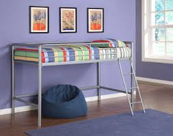 Metal Frame Loft Bed With Desk Amazon Com Dhp Junior Loft Bed Frame With Ladder Multifunctional