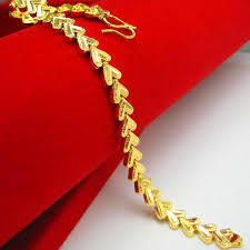 simple gold bracelet price images 2018 gold bracelet men do not fade female models imitation gold jpg