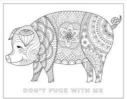 amazon com chill the f ck out a swear word coloring book