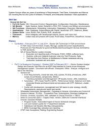 free resume writing software sample qa resumes resume cv cover letter with regard to sample software test lead resume sample free resume example and writing in sample resume for qa