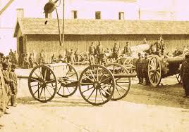 french 75 gun field heavy artillery horse artillery limbers ammunition