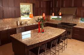 kitchen island cherry wood excellent modern kitchen countertop gold granite countertop