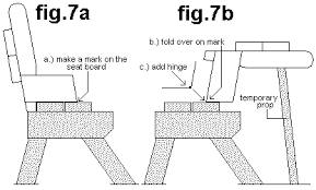 Free Hexagon Picnic Table Designs by Bench Converts To Picnic Table Free Plans Page 11