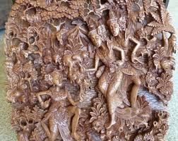 bali wood carving balinese carving etsy