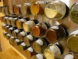 Wall Mount Spice Rack With Jars How To Make A Wall Mounted Magnetic Spice Rack U2014 Reader Tips