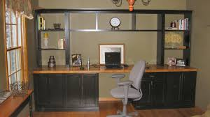 Custom Office Cabinets Custom Home Office Cabinets And Built In Desks For Built In Wall