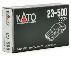 toyota automobiles kato n scale 80 u0027s era toyota automobiles 6 by kato usa inc