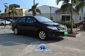 toyota corolla second second toyota corolla altis 2013 for sale used cars philippines