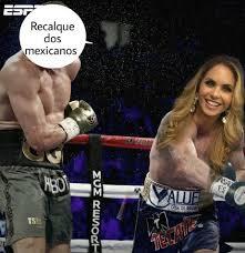 Lucero Meme - escote de lucero se roba el show en pelea canelo vs golovkin fotos