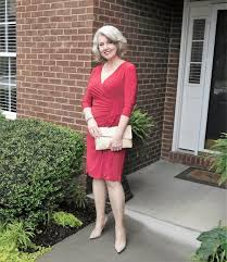 elegant mature woman fifty not frumpy go red for women