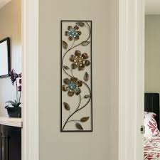diy wall decor hanging vase with paper flower easy dollar store