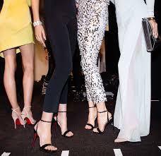 ladies first christian louboutin at new york fashion week fall