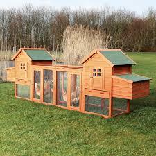 trixie pet products duplex chicken coop with outdoor run hayneedle