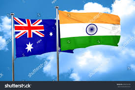 Austrslia Flag Royalty Free Australia Flag With India Flag 3d U2026 435029146 Stock