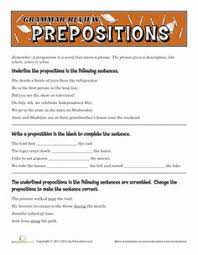 3rd grade math worksheets 2 pairs of feet prepositions