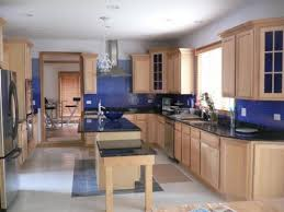 Kitchen Wall Colour by Honey Oak Kitchen Cabinets Wall Color Shenra Com