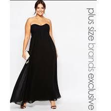 dress black dress black long dress long curvy plus size