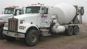 kenworth concrete truck 1992 kenworth w900 cement truck item 4970 sold march 17
