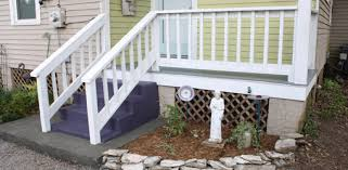 Outdoor Banisters And Railings Wood Porch Repair And Painting Project Today U0027s Homeowner