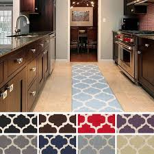 Trellis Kitchen Rug Tufted Riso Moroccan Trellis Wool Rug 2 3 X 8 Free