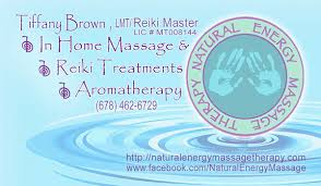 Massage Therapy Business Cards Business Card Design Natural Energy Massage Therapy On Behance