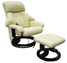 homcom pvc leather recliner and ottoman set cream 25 best leather recliner chairs images on pinterest leather