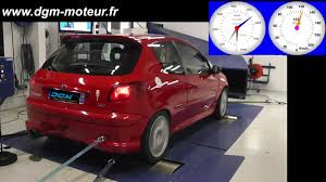 peugeot au mise au point peugeot 206 s16 2 0l 136ch youtube