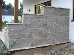 best garten steinmauer terrasse gallery house design ideas