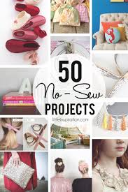 50 no sew projects little inspiration