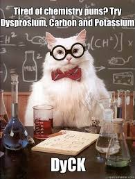 Tired Cat Meme - tired of chemistry puns cat meme cat planet cat planet