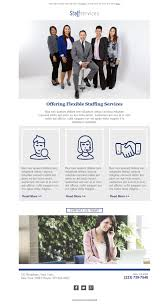 3 free and professional newsletter templates for staffing and