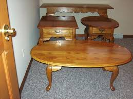 solid oak coffee table and end tables casio men s prw 3500t 7cr pro trek tough solar digital sport watch