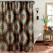 Southwestern Style Curtains Southwest Style Window Curtains Muarju Me
