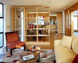 Bookcases As Room Dividers Seattle Custom Room Dividers Living Contemporary With Rustic Wood