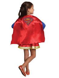 halloween costumes super heros dc super hero supergirl cape and skirt set for children