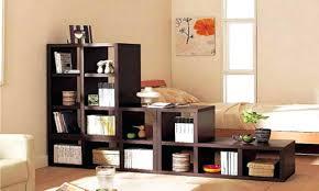 bookshelves as room dividers 50 clever divider designs indian