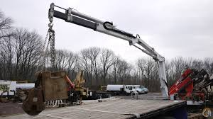 auto crane knuckleboom crane truck crane for sale in hatfield