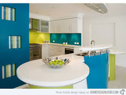 funky kitchens ideas 15 adorable multi colored kitchen designs home design lover