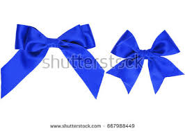 white and blue bows set blue bows isolated on white stock vector 229892167