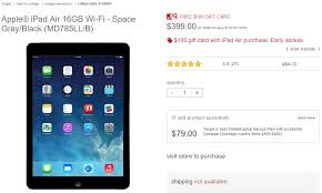 black friday target ipad air deal best apple deals for 2015 black friday full list of special