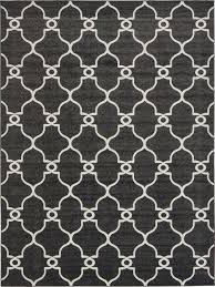 trellis moroccan style area rug contemporary design geometric
