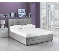 buy hygena eros grey ottoman bed frame double at argos co uk