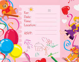 wedding excellent children birthday invitation card 76 about