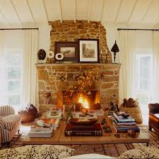 Rustic Hearth Rugs Rustic Stone Fireplace Design Ideas